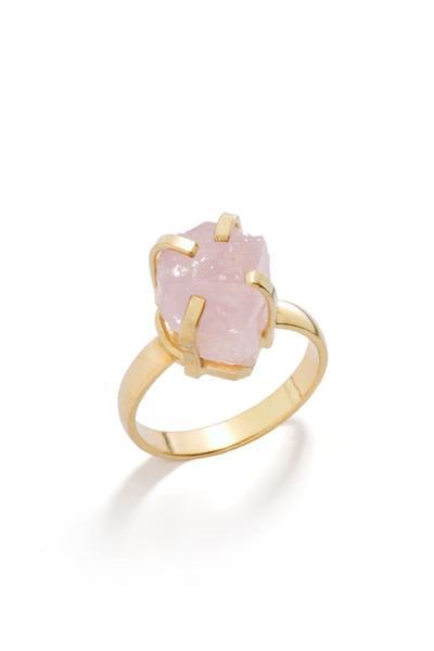 Decadorn  Mini Glacier Raw Cut Gemstone Ring