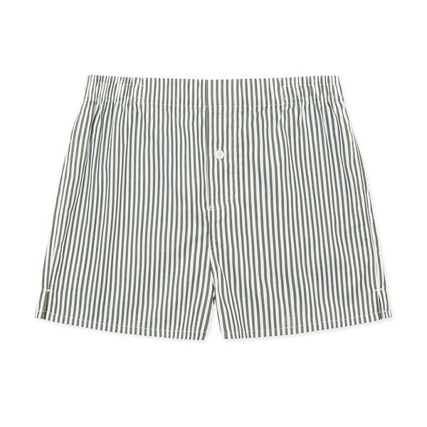 Boxer Short Olive Stripe