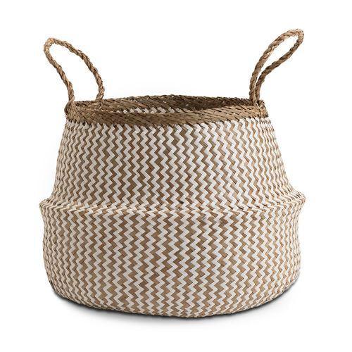 Chickidee Homeware Natural White Basket