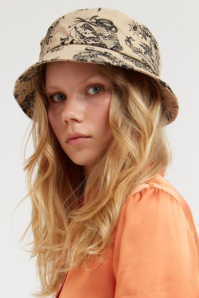 Wood Wood Sand Bucket Hat