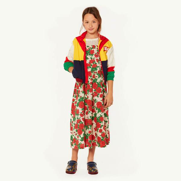 The Animals Observatory Multicolour Red Fox Kids Jacket