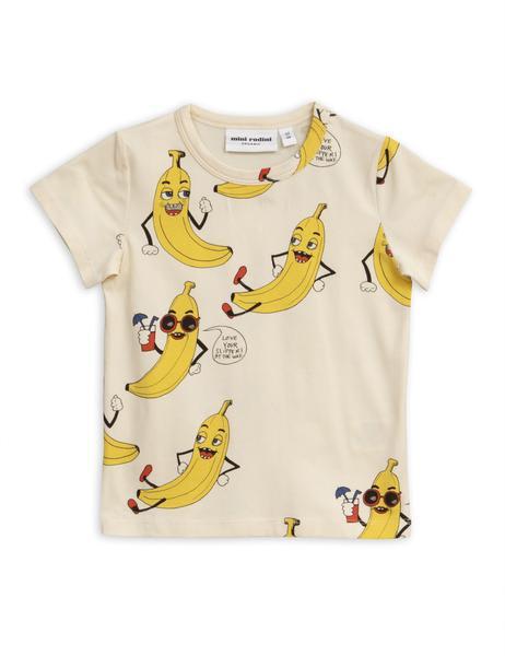 Mini Rodini Banana Aop Print T Shirt