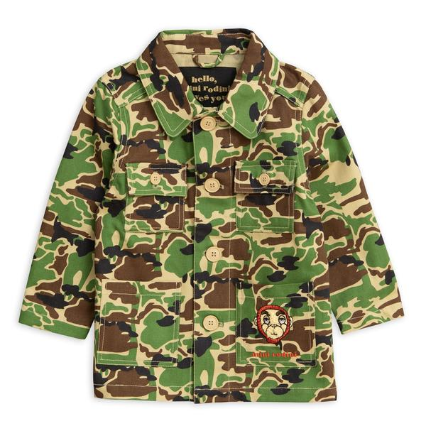 Mini Rodini Green Safari Jacket