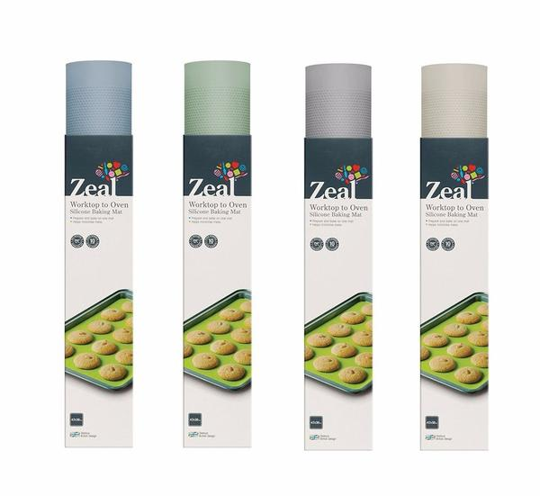Zeal 42 X 30 Cms Worktop To Oven Silicone Baking Mat