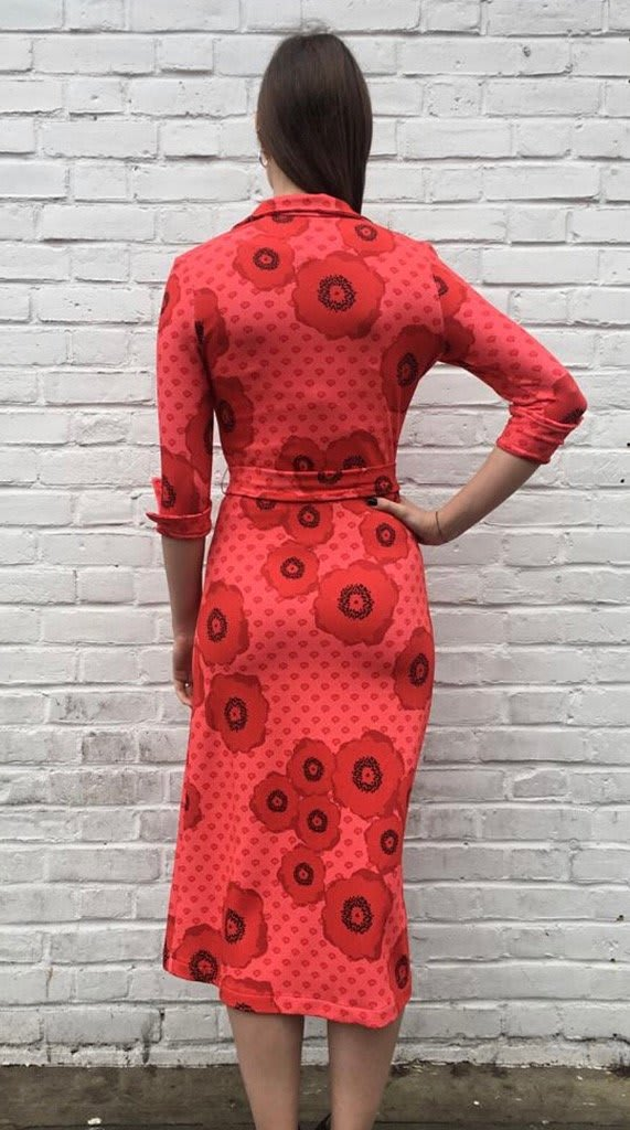 The West Village Red Shirt Dress