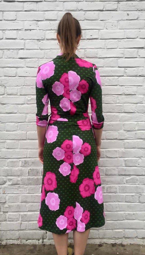 The West Village Green Shirt Dress