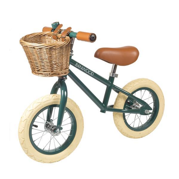Banwood First Go Balance Bike Dark Green