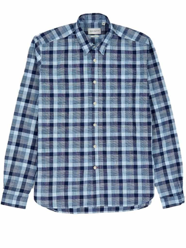 Oliver Spencer Otto Blue New York Special Shirt