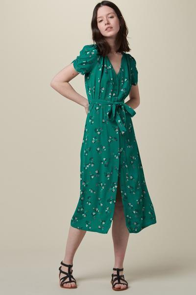 Sessun Menthol Upala Henley Dress