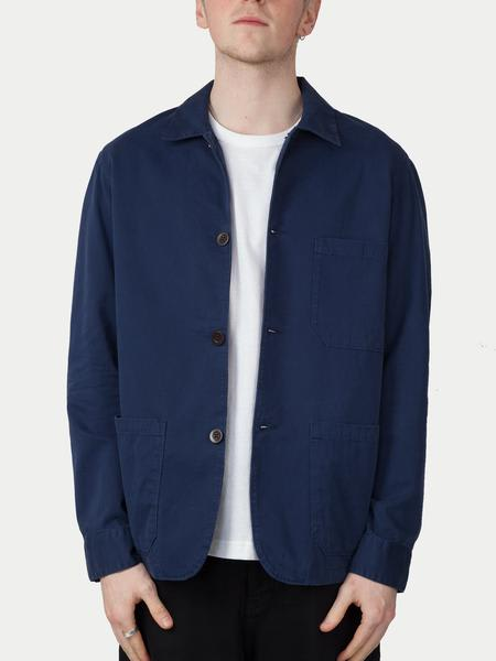 Portuguese Flannel Labura Jacket Navy
