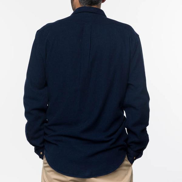 Portuguese Flannel Navy Teca Shirt
