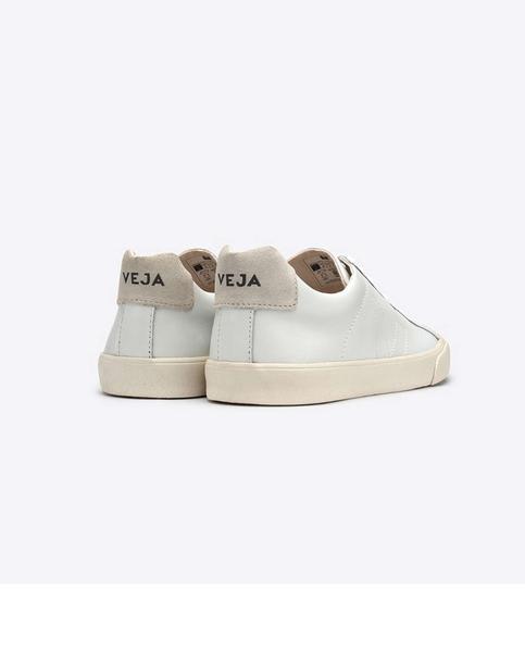 Veja Esplar White On White Leather Trainers