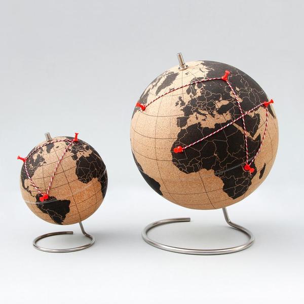 Suck UK Cork Globe Large