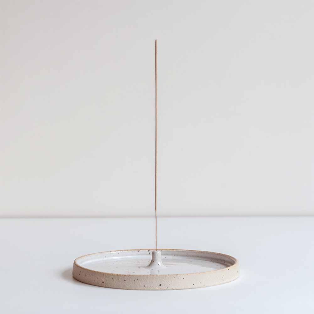 Dor & Tan Speckled Incense Holder