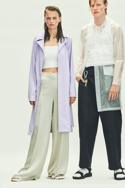 Rains Lavender Overcoat