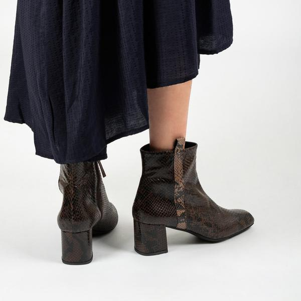Palazzo VII Whisky Ankle Boots