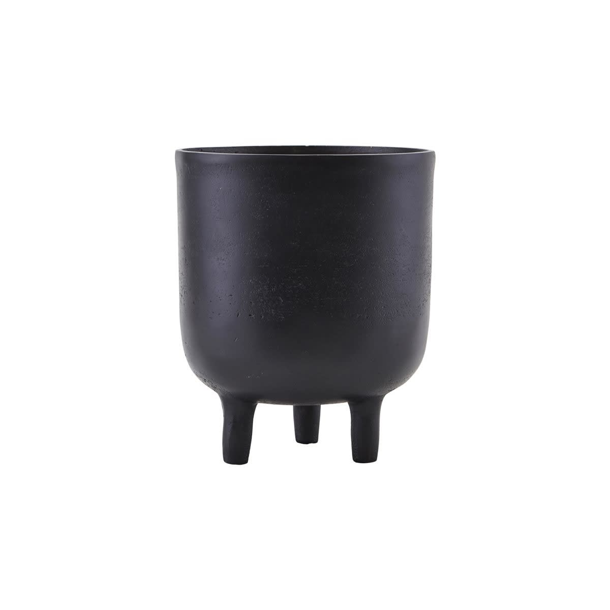 House Doctor Planter Jang Black Oxidized