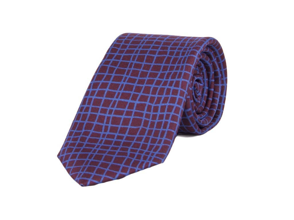 40 Colori Net Printed Silk Tie