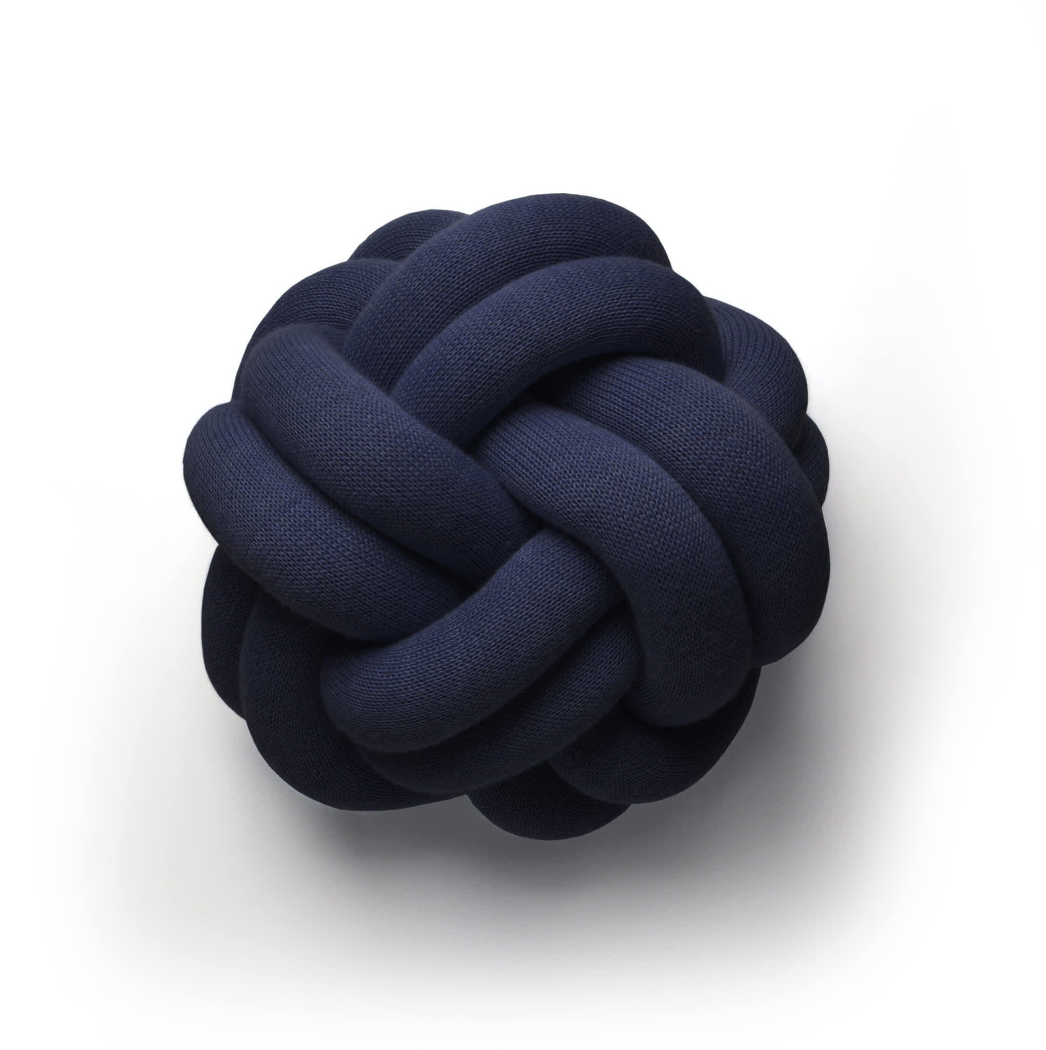 Design House Stockholm  Navy Knot Cushion