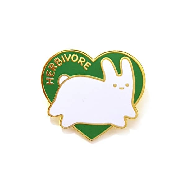 Sparkle Collective Herbivore Enamel Pin