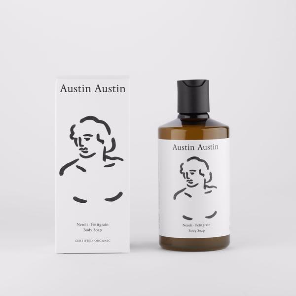 Austin Austin  300 Ml Organic Neroli Petitgrain Body Soap