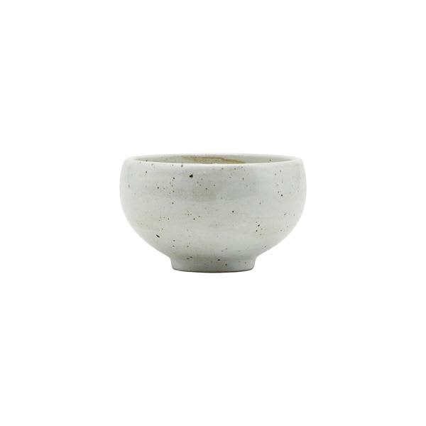 House Doctor Ivory Ceramic Bowl