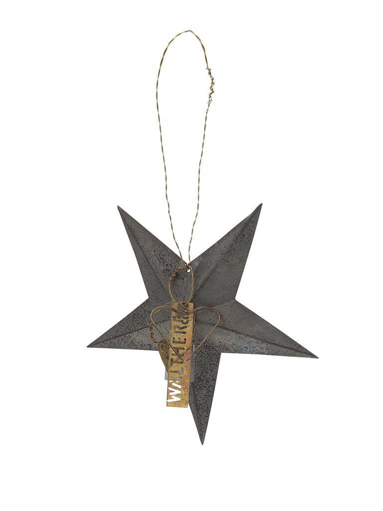 Walther&Co Medium Zinc Star