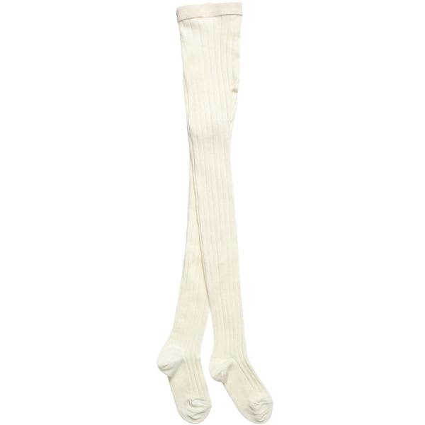 Dore Dore Ivory Ribbed Tights