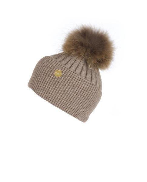dfe79fd3153 Trouva  Angora Fur Pom Pom Hat