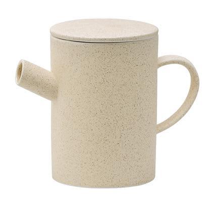 Bloomingville Simple Sand Ceramic Teapot