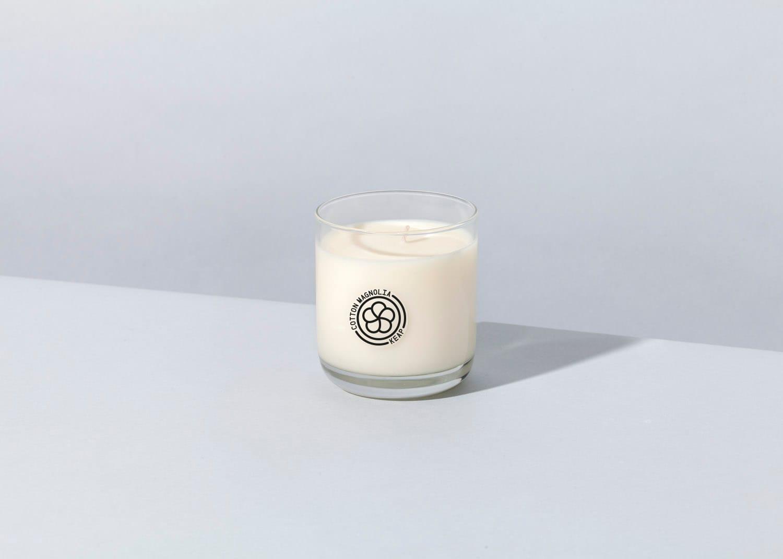 Keap Cotton Magnolia Coconut Wax Candle
