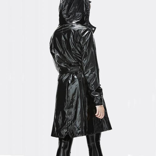 71d07515 Trouva: Black Gloss Limited Edition Waterproof Curve Jacket
