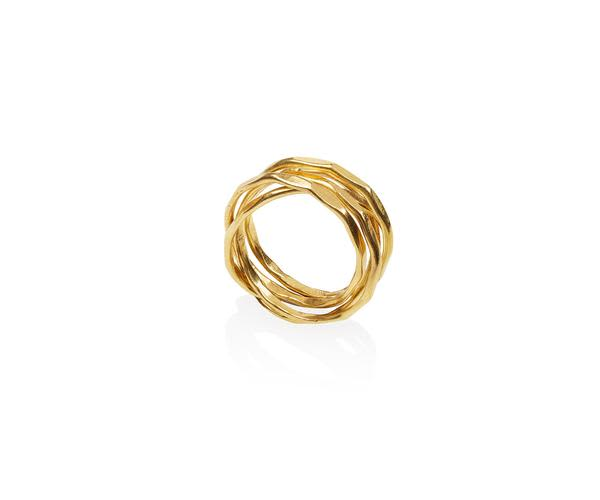 Maya Magal Five Strand Ring