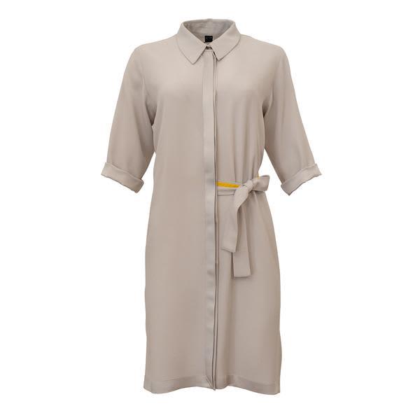 Corvera Vargas Light Grey Genf Dress