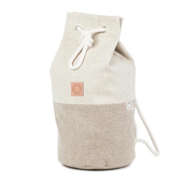 Marin et Marine  Sand Sac Marin Wool Backpack Bag