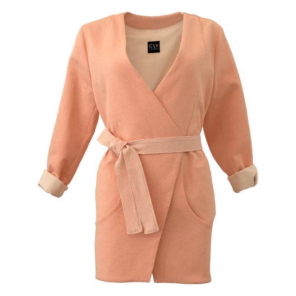 Corvera Vargas Pink Zurich Midi Jacket