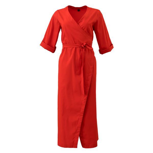Corvera Vargas Red Sandra Dress