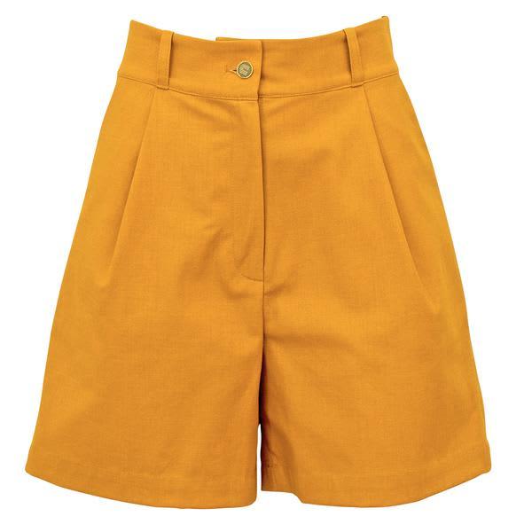 Corvera Vargas Mustard August Shorts