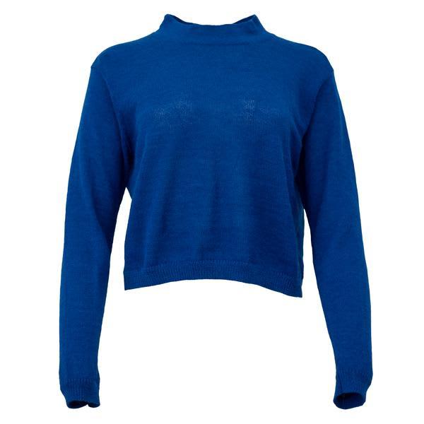 Corvera Vargas Blue Alpaca Knit