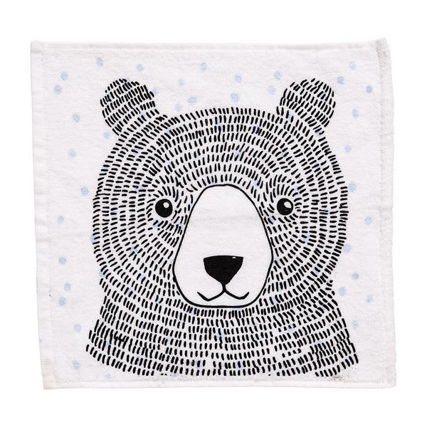 Bloomingville Blue Bear Washcloth
