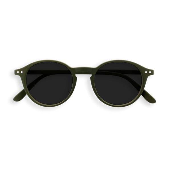IZIPIZI Sunglasses/Reading Sunglasses in Khaki Green (Frame Shape: #D)