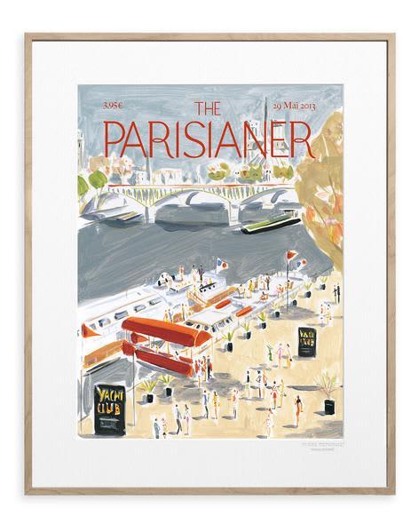 Image Republic 40x50cm The Parisianer Corbasson Print