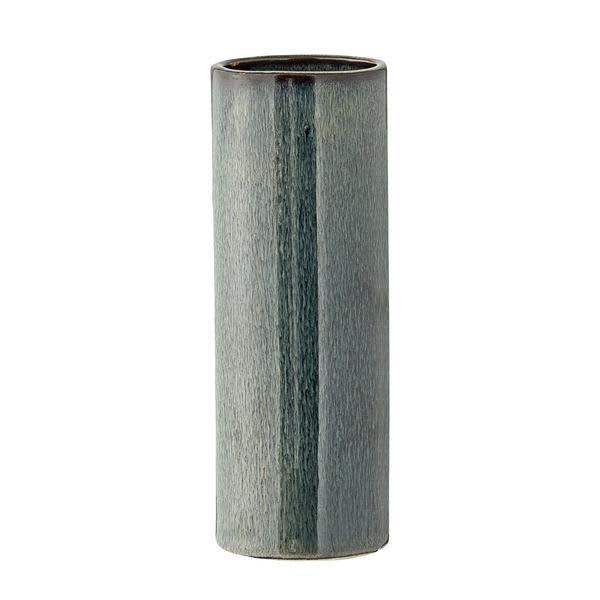 Bloomingville Thin Blue Stoneware Vase