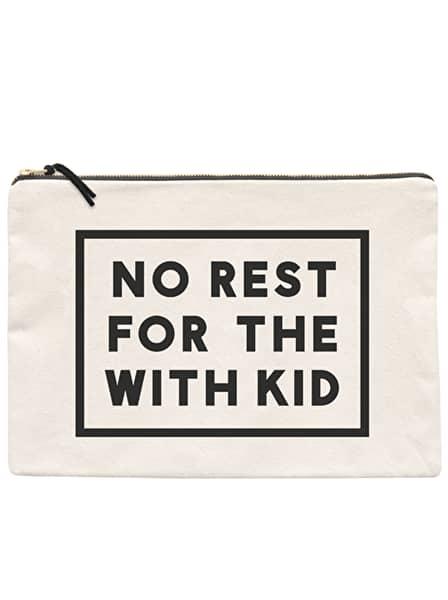 Alphabet Bags Extra Large No Rest Canvas Pouch