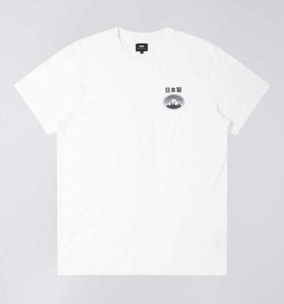 Edwin White Fuji San T Shirt