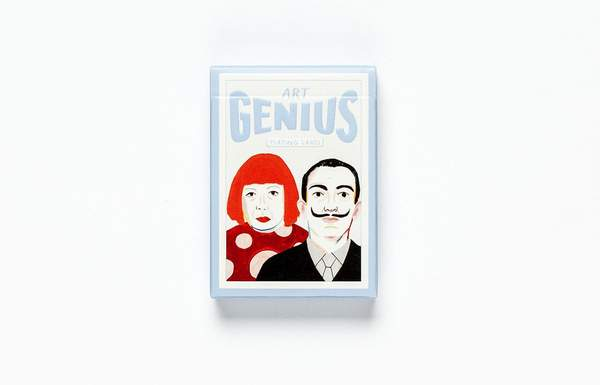 Laurence King Art Genius Playing Cards
