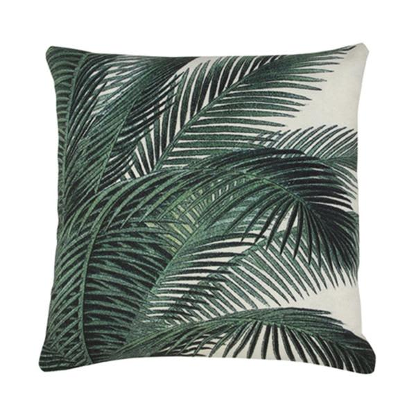 HK Living Printed Palm Leaves Cushion