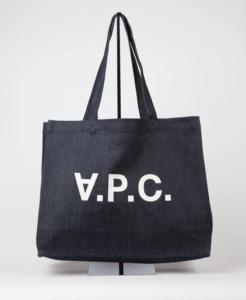 A.P.C. Apc Daniel Denim Tote Bag