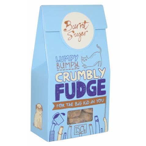 Burnt Sugar Crumbly Fudge