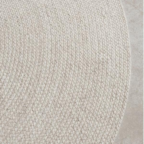 Armadillo & Co. 1.82m Chalk Braid Weave Rug